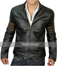 X Men X-Men Wolverine Origins XO Logans XMen Genuine Leather Biker Style Jacket