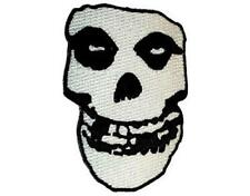 OFFICIAL LICENSED - MISFITS - SHAPED SKULL IRON ON / SEW ON PATCH PUNK