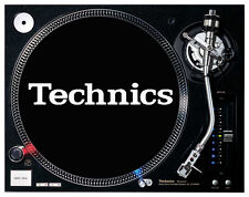 Technics - Black Felt Turntable / DJ Slipmats