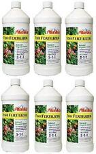 6 ea Alaska 100099247 Quart Fish Emulsion Liquid Organic Fertilizer