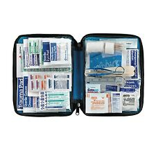 FAO442 299pc Large First Aid Kit in Soft Sided Zipper Case with Emergency Guide