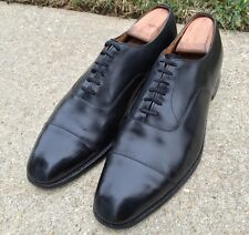 Church's Custom Grade Consul Black Calf Captoe Oxford 11.5 C