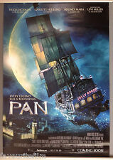 Cinema Poster: PAN 2015 (Ship One Sht.) Hugh Jackman Garrett Hedlund Rooney Mara