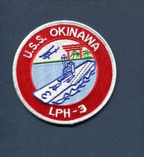 LPH-3 USS OKINAWA US NAVY USMC Helicopter Landing Ship Squadron Cruise Patch