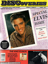 DISCOVERIES Music Magazine Newspaper- ELVIS PRESLEY Special August 1991 VG+ RARE
