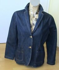 Lands End Jeansblazer  Lagenlook Gr.14 ca 38 /40