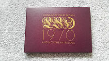 1970 UK COINAGE OF GREAT BRITAIN PROOF SET COVER- CARD CASE ONLY-NO COINS!