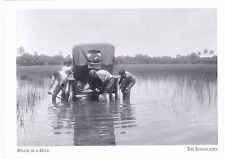"*Postcard-""Vehicle...Stuck In A Hole"" *Everglades, FL (#265)"