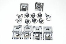 QUICK RELEASE D-RING ¼ TURN Fiberglass RACE FAIRING FASTENERS 17mm