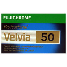 Fuji Professional VELVIA 50 35mm 36exp Slide Film