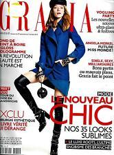 GRAZIA N°210 27 SEPTEMBRE 2013  MODE NOUVEAU CHIC, GRUNGE&ROCK/ PAPE/ DIEUDONNE