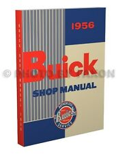 1956 Buick Repair Shop Manual Special Century Super Roadmaster Service Book 56