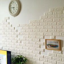 1x3D Waterproof Brick Panels Self-adhesive Stickers Wallpaper Wall Decor 60*60cm