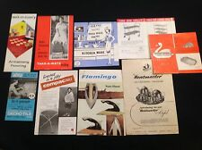 JOBLOT VINTAGE RETRO TABLE CHAIRS IRON HOUSEHOLD KITCHEN LEAFLETS