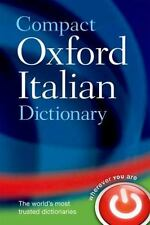 Compact Oxford Italian Dictionary-ExLibrary