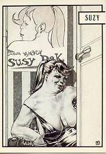 POSTCARD / CARTE POSTALE / ILLUSTRATEUR / BORDEL / LIBERATORE / 1983 SUSY