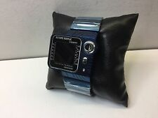 NOS BLUE Collector Japanese Scope Radar digital LCD LED watch uhr MOT James Bond