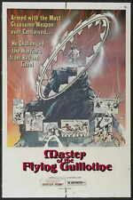 MASTER OF THE FLYING GUILLOTINE Movie POSTER 27x40 B Yu Wang Kang Kam Chung-erh