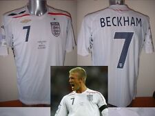 England BECKHAM Brazil Wembley Shirt XL Jersey Football Soccer Umbro World Cup
