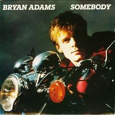 "BRYAN ADAMS somebody bw long gone 7"" PS EX/EX uk a&m AM 236"