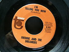 FREDDIE AND THE DREAMERS I'm telling you now TOWER 125 USA