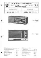 Blaupunkt Service Manual für Oslo/Nizza/Napoli 7626200/300/360 7 626 200