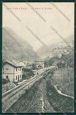 Aosta Bard Stazione cartolina QQ6162