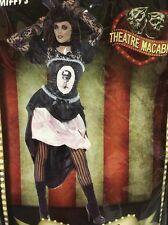 DITA VON DEATH Small Women's Macabre Burlesque Gothic Fancy Dress Costume
