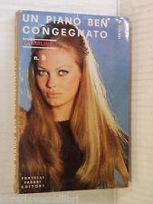 UN PIANO BEN CONGENIATO Alberto Solari Fabbri Darling 9 1968 libro romanzo di
