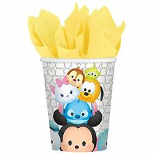 TSUM TSUM by Disney 9 oz. Paper Cups 8 pack Birthday Party Supplies #385297