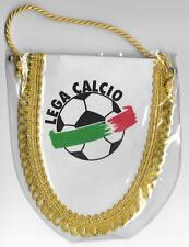 LEGA CALCIO SERIA A & B ITALY FOOTBALL LEAGUE OFFICIAL SMALL PENNANT SEALED OLD
