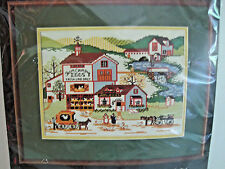 Dimensions Counted Cross Stitch Kit Farm Country Eggs #3526 Wysocki Opened