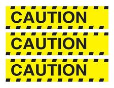 Caution tape edible cake strips cake topper decorations