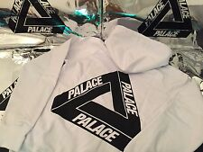PALACE SKATEBOARDS LARGE L SS16 CLASSIC TRI FERG HOODIE WHITE BLACK OG FLOCKA