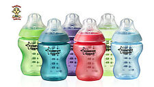 Tommee Tippee Closer to Nature Fiesta Bottles, 9 oz (260 ml), 6 pack