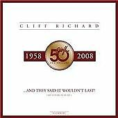 """Cliff Richard - They Said It Wouldn't Last (My 50 Years In Music/+10"""" Single OOP"""