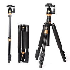 Professionnel caméra trépied monopode en aluminium pr appareil photo avec rotule