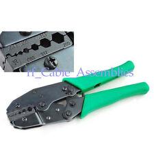 Crimper crimping tool RG58 RG142 RG62 RG174 RG316, SMA/BNC/UHF/N/MCX/MMCX/TS9