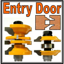 "2 pc 1/2"" SH Entry & Interior Door Ogee Matched R&S Router Bit Set"