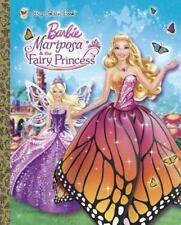 Mariposa and the Fairy Princess (Barbie) (a Big Golden Book)-ExLibrary