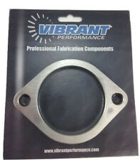 "Vibrant 1473S 2 Bolt Stainless Steel Flange 3"" I.D. Single Flange Exhaust"