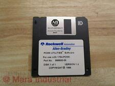 Allen Bradley 999500-5 Software Disk 1784-PCMK - Used