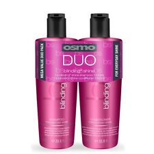 Osmo Blinding Shine Duo Twin Pack 1000ml Shampoo and Conditioner includes pumps