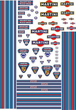 Water Slide Decals Transfers 1:18 Scale Model Cars Waterslide Motorsport Sticker