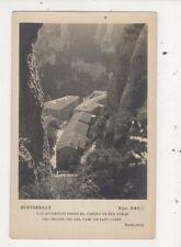 Montserrat Los Aposentos Desde El Camino De San Dimas Vintage RP Postcard 888a