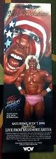 WCW Great American Bash Poster 12x36 Sting WWE WWF