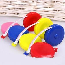 Retractable Ruler Tape Measure Sewing Cloth Dieting Tailor Random Color