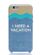 NWT Kate Spade New York I Need A Vacation Glitter Iphone 6/6s Resin Case Multi