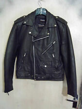 VINTAGE 70'S WILSONS LEATHER BRANDO MOTORCYCLE JACKET S