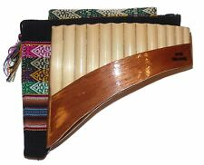 Beginners 13 Pipes Pan Flute Antara w/ Case Included